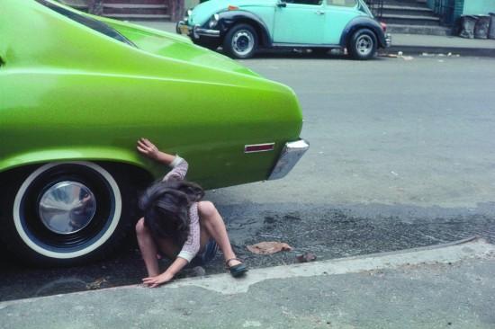 Spider Girl, NYC, 1980. Helen Levitt