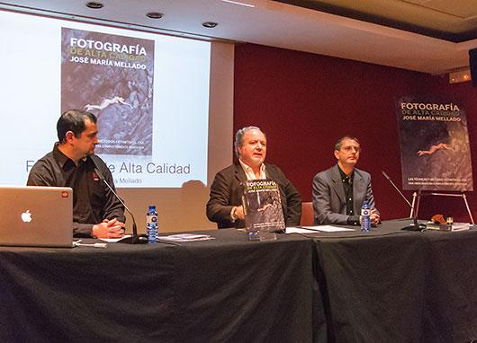 José María Mellado presenta su hoy obra en Valencia