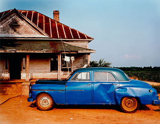 El Sur americano de William Christenberry