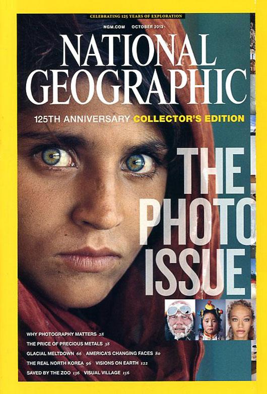 Número especial de National Geographic dedicado a la fotografía