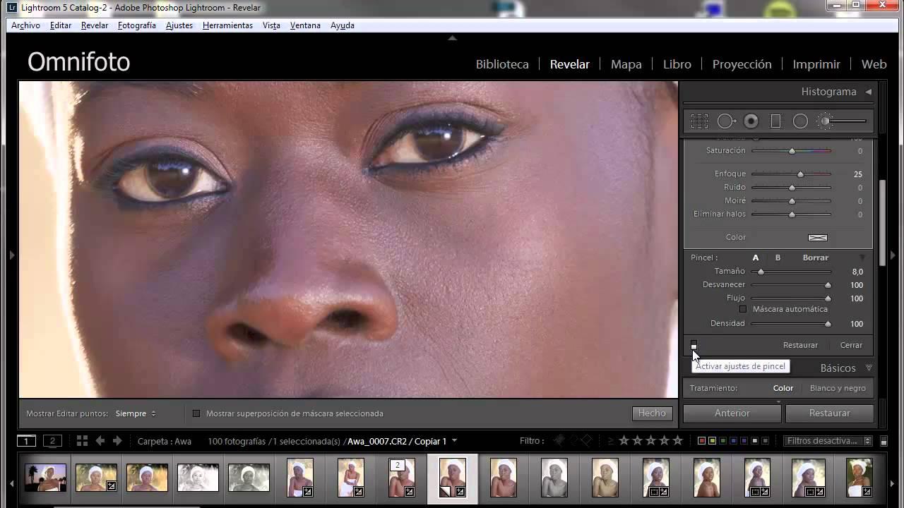 Tutorial de retoque para retratos: suavizado sencillo y efectivo de piel con Lightroom