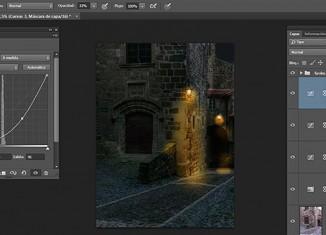 Tutorial Photoshop: convertir el día en noche