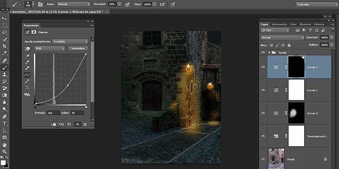 Tutorial de Photoshop: convertir el día en noche