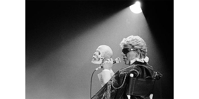Mats Bäcker en la galería Mondo, la imagen del rock de los 70 y los 80 en blanco y negro