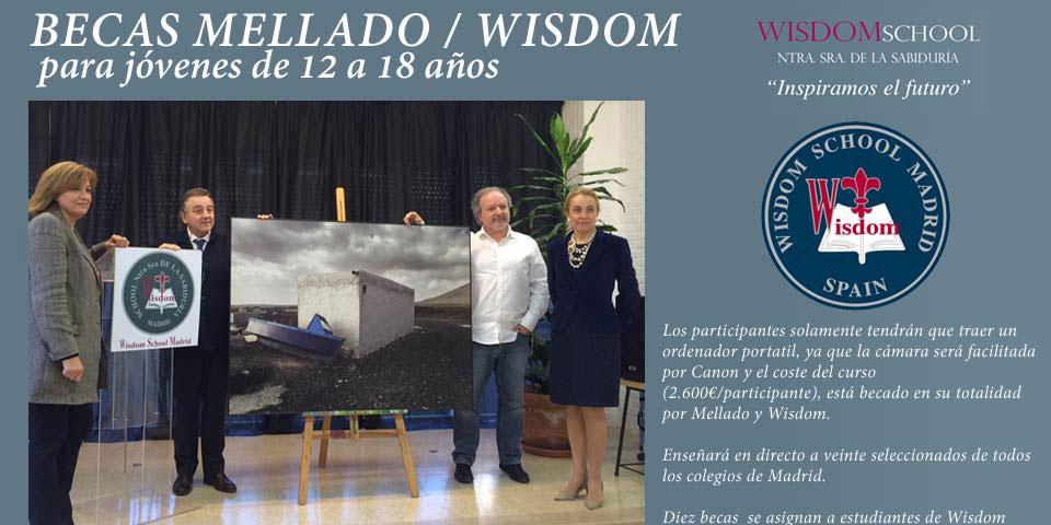 Becas de José María Mellado y el colegio Wisdom para talleres fotográficos para jóvenes