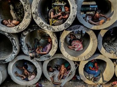 Paisaje urbano- La vida en un círculo