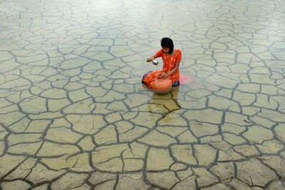 Rainwater collection, 2012, by Prasanta Biswas (India)