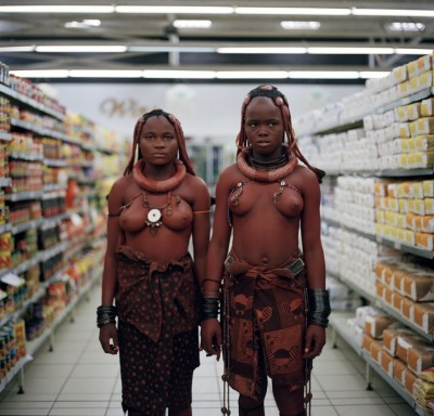 Supermarket, Himba, 2012, by Toufic Beyhum (UK)
