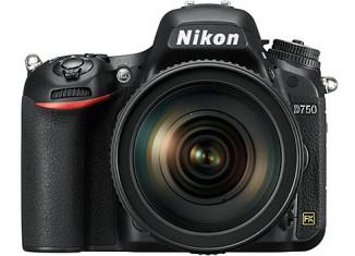 Nueva cámara Nikon D750