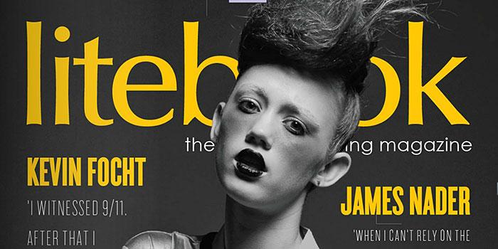 Ultimo número de la revista de iluminación fotográfica Litebook, con vídeos making off