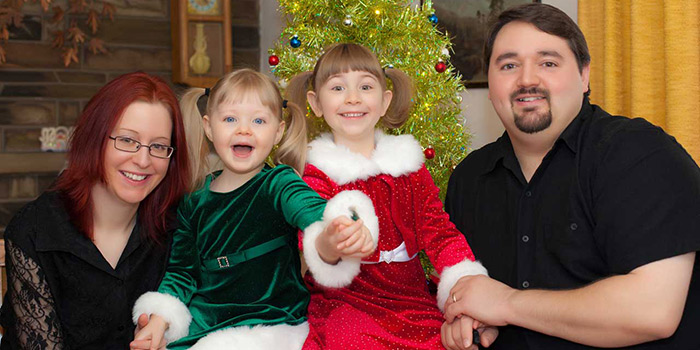 Consejos profesionales para fotografiar a tu familia en Navidad