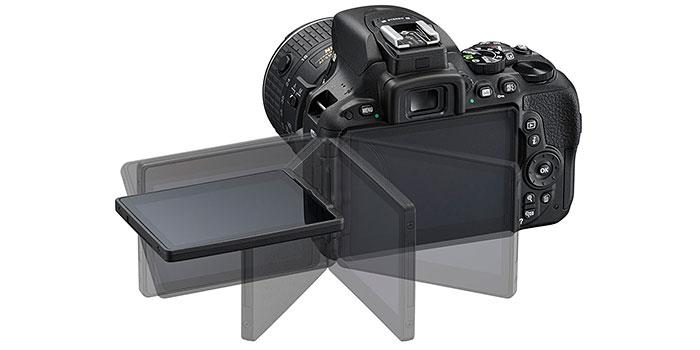 Nueva Nikon D5500, APS-C con pantalla táctil abatible y 24,2 megapíxeles
