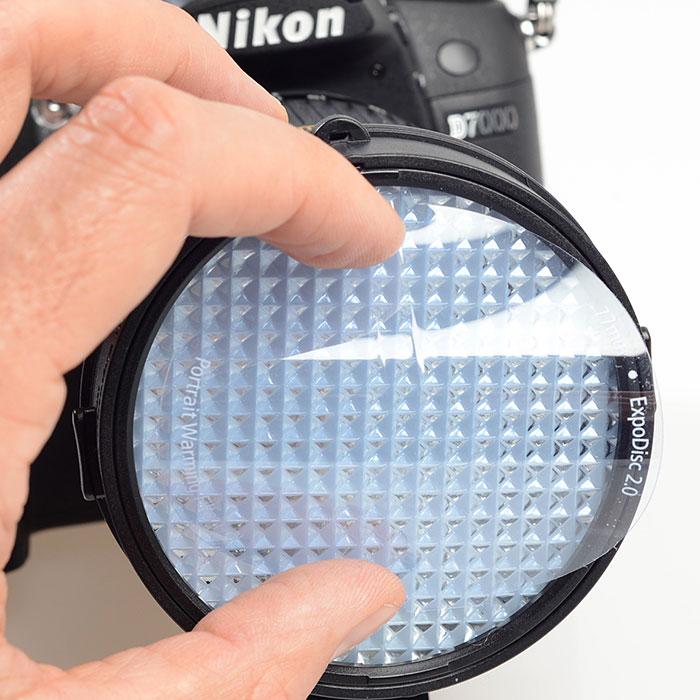 ExpoDisc-2---Montaje-filtro-calido