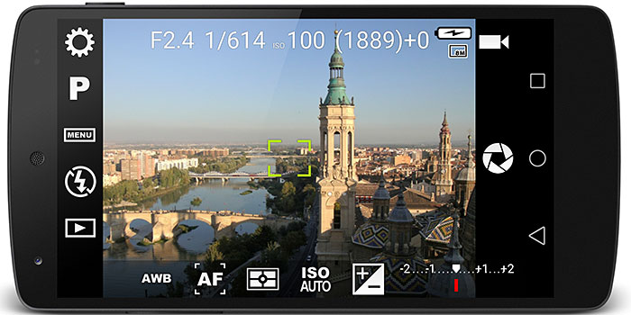 Tutorial: Camera FV-5 controla profesionalmente tu cámara Android