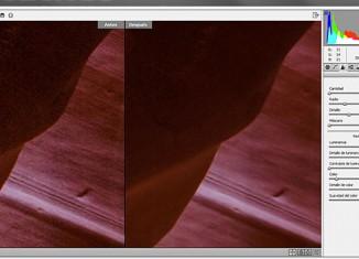 Disminucion-selectiva-de-ruido con filtro Camera Raw