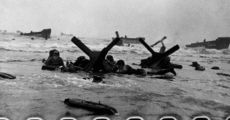 robert_capa_desembarco en Normandía