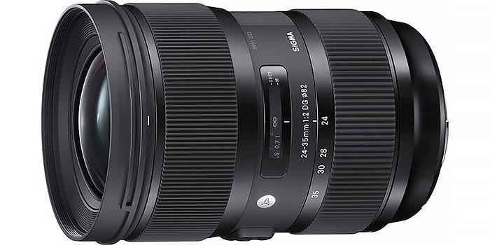 Sigma Art 24-35 mm f/2, un zoom angular con calidad de lente fija