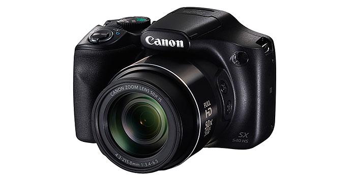 Canon presenta su nueva cámara PowerShot SX540 superzoom en el CES 2016