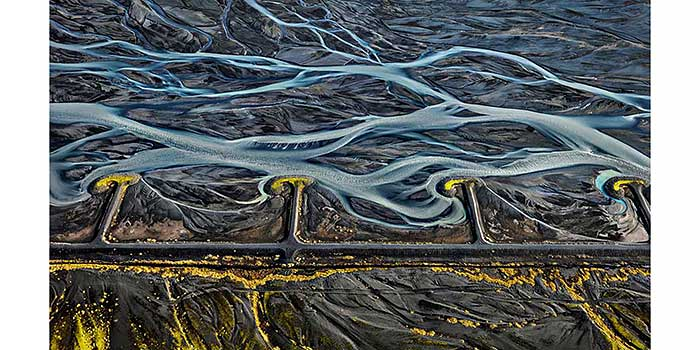Agua Shock, la última serie de Edward Burtynsky sobre la intervención del hombre en el planeta