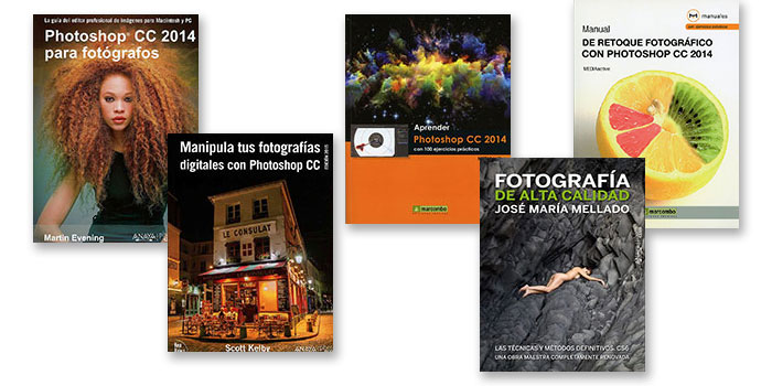 Los mejores libros para aprender a retocar con Photoshop