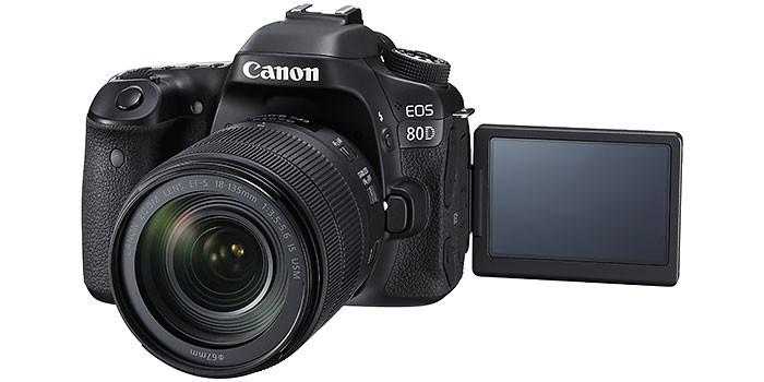 nueva cámara EOS-80D
