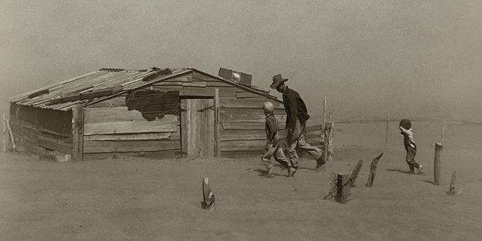 Fotografía documental en Estados Unidos años 30, la impresonante labor de la FSA