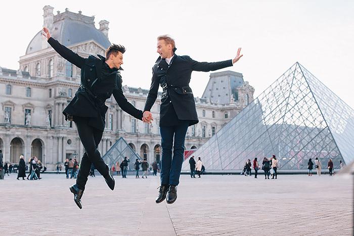 Gonçalo in Paris for Flytographer