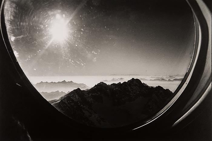René-Burri,-Alpes-suisses-vues-d avion,-1981