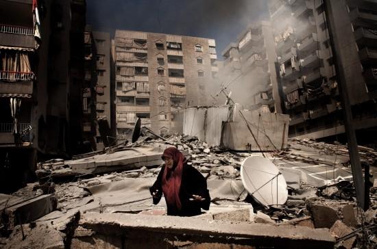 Líbano, entre mar y fuego, de Alfonso Moral.