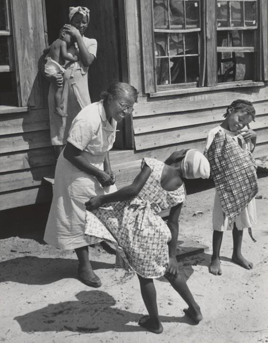 Maude en el parto, 1951. W. Eugene Smith