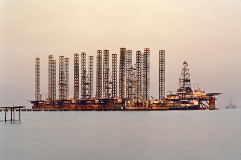 Los campos de petróleo de Edward Burtynsky