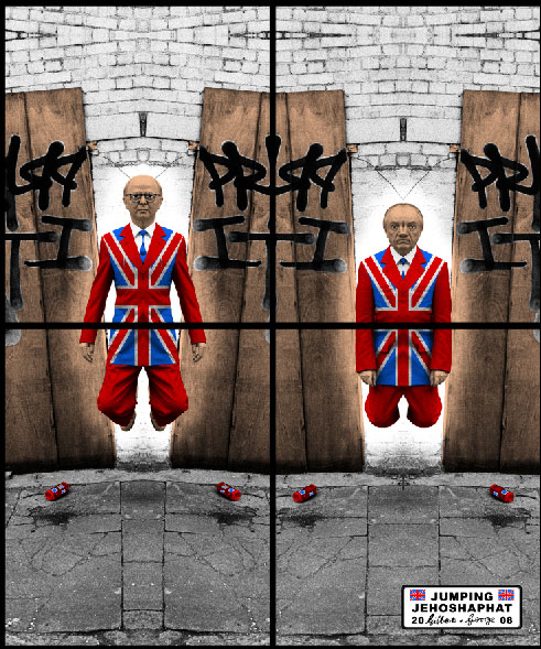 Gilbert-&-George_Jack-Freak_jumping-p