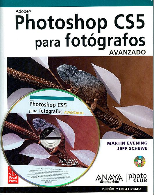 Un libro excelente sobre Phtosohop CS5