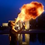 crear efecto de fuego en Photoshop