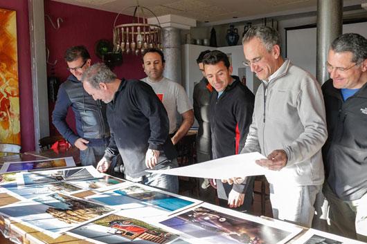 Diario del taller de J.M. Mellado en Cabo de Gata