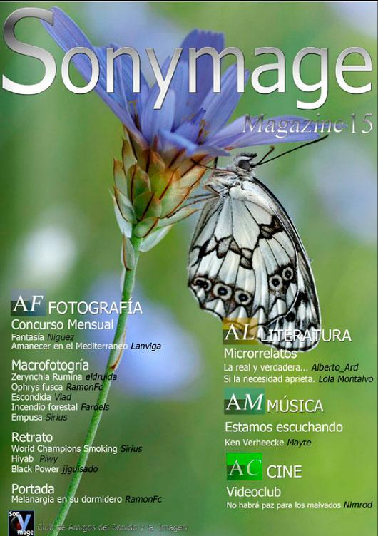 Sonymage, revista gratuita con grandes imágenes y artículos
