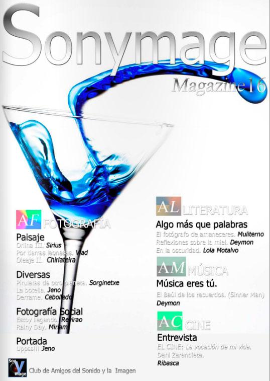 Nuevo número de la revista gratuita Sonymage