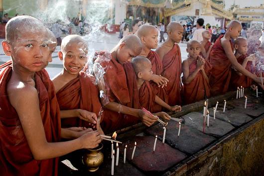 Viaje fotográfico a Birmania con Harry Fisch