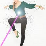 desintegración de partículas con Photoshop