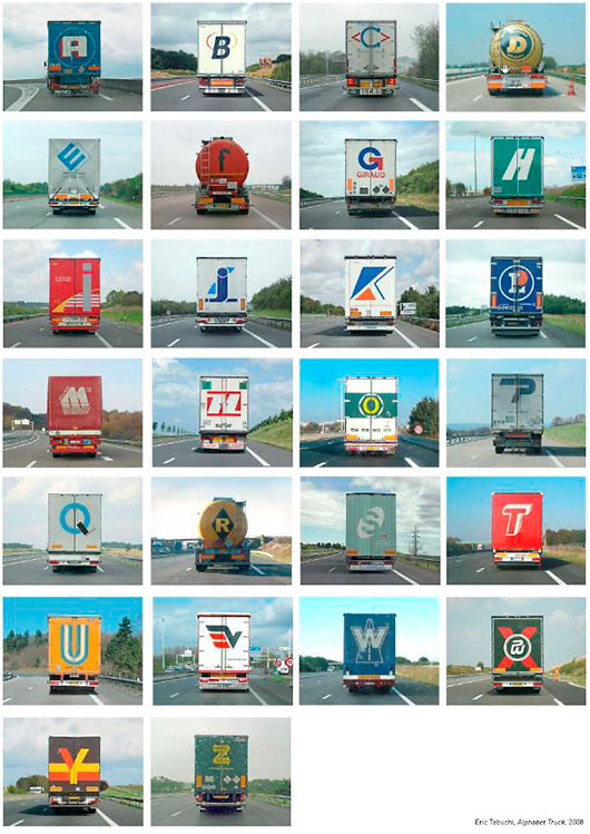 Alphabet-truck