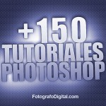150 tutoriales Photoshop
