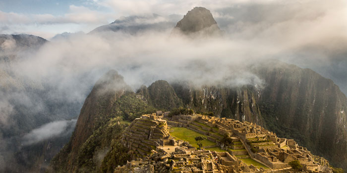 Fotoinspiración para turistas – Amanecer en Machu Picchu