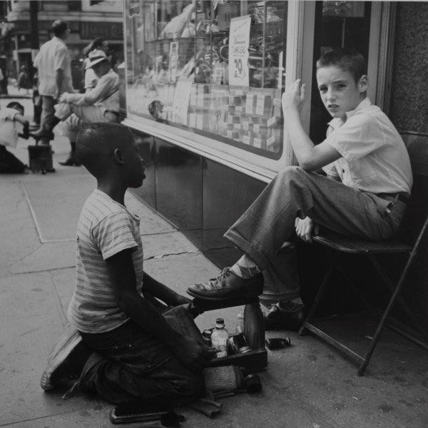 Vivian-Maier-NY 1954