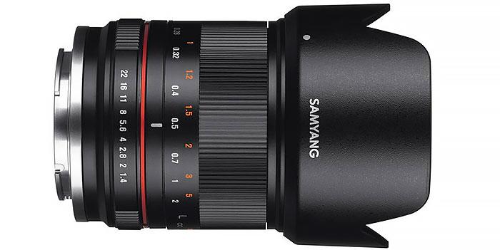 Dos nuevos objetivos Samyang para cámaras CSC sin espejo: 21 mm f1.4 y 50 mm f 1.2