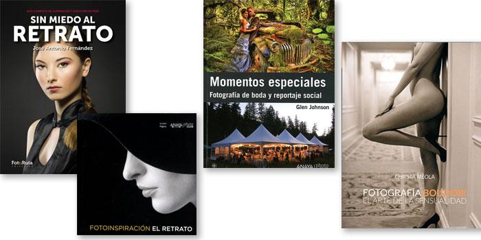 Los mejores libros para aprender fotografía de retrato, boda y boudoir