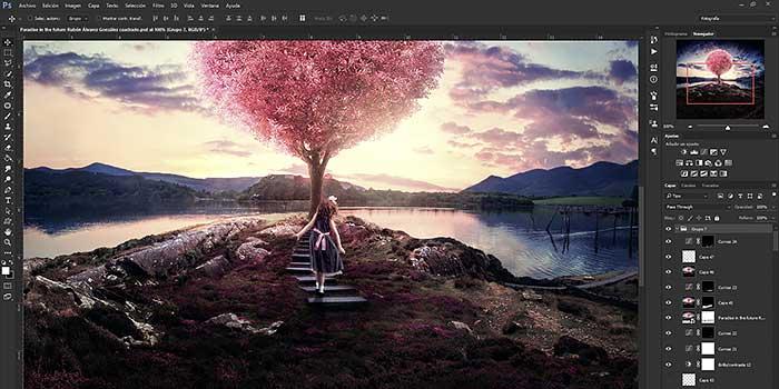 De Ponferrada a California, un español de 23 años crea la imagen que representa a Photoshop CC 2015 en el mundo