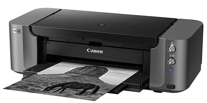 Prueba de la impresora Canon Pixma 10s, copias de calidad profesional en BN y color hasta A3+