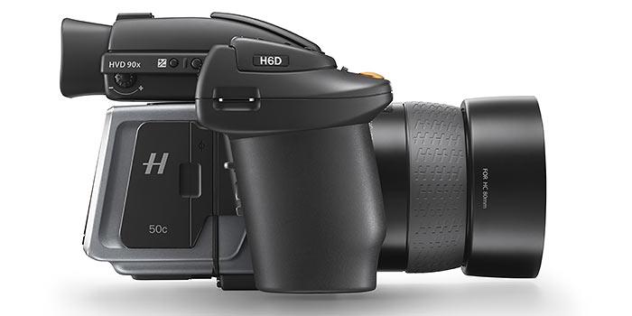 H6D, la nueva cámara de formato medio de Hasselblad con hasta 100 mpx