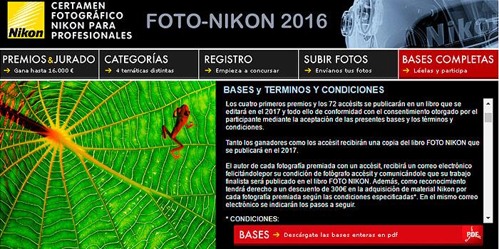 16.000 euros en premios para el concurso Foto Nikon 2016,