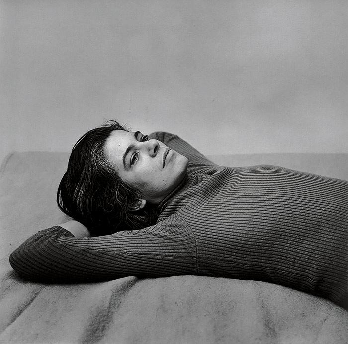 08.Peter Hujar Susan Sontag 1975